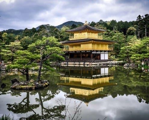 """Kinkaku-ji """"Golden Pavilion"""", Kyoto"""